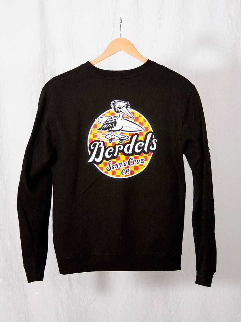 Spicoli Checker Crewneck Sweatshirt