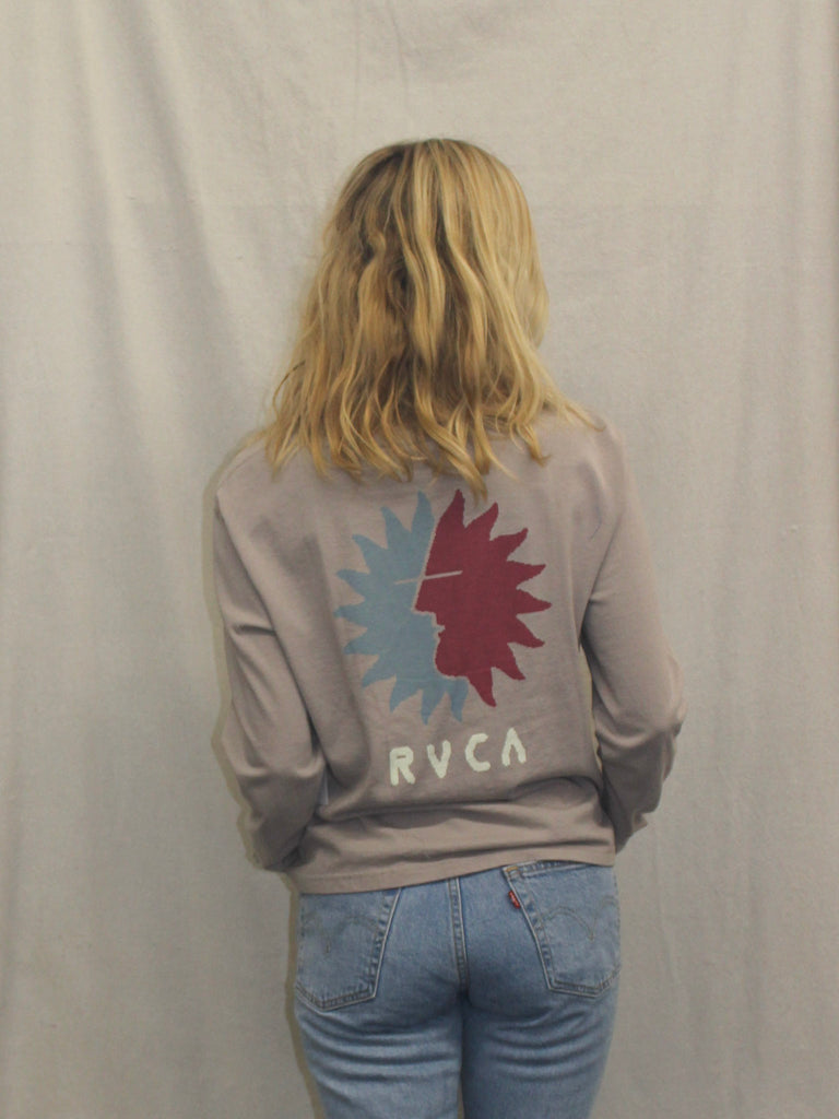 RVCA women's long sleeve t-shirt