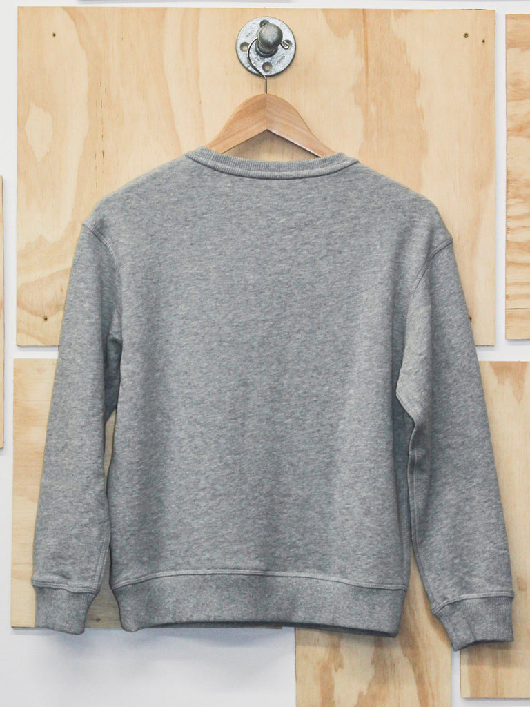 Sun Rays Crew Neck Sweatshirt Heather Grey