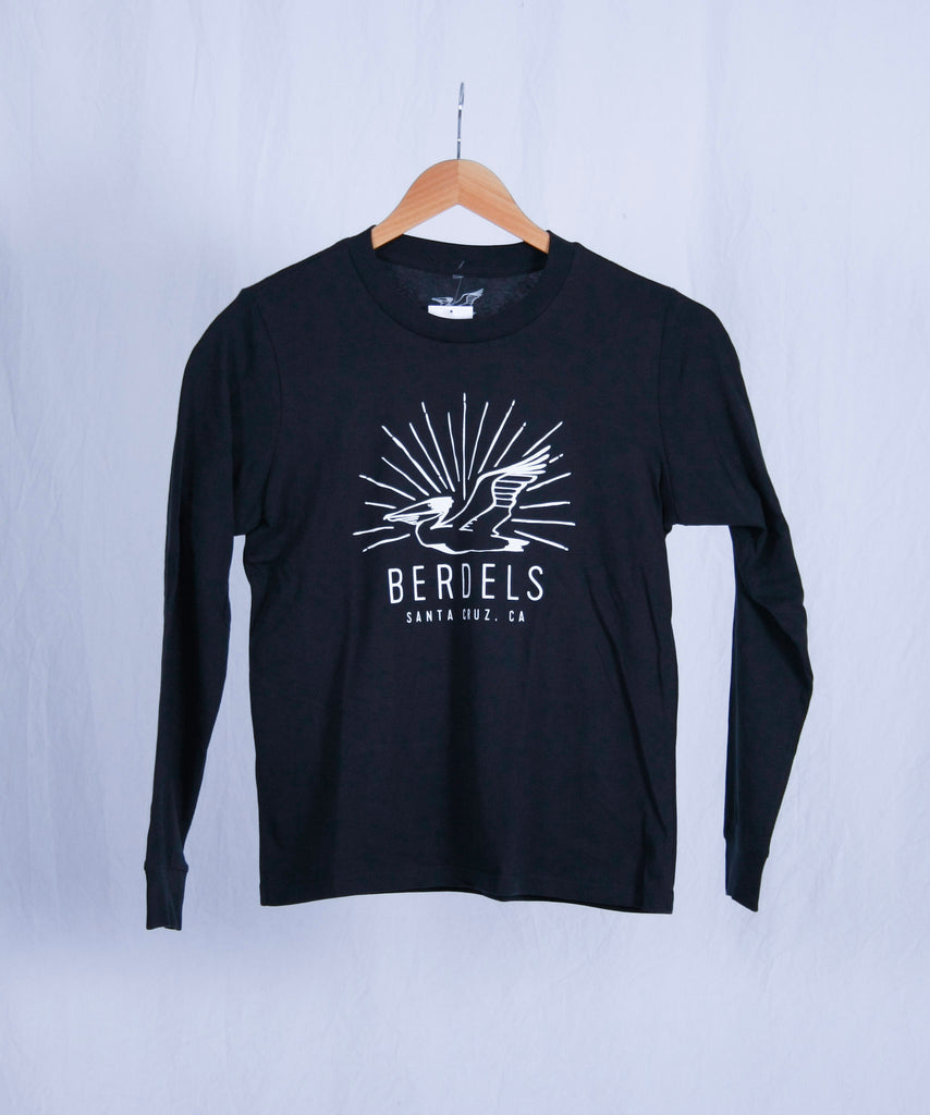 Sun Rays Long Sleeve Tee Navy