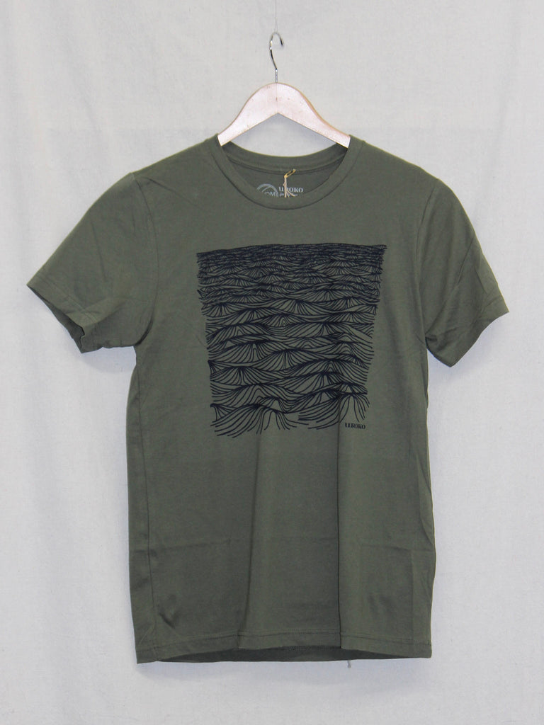 Uroko Swell Tee Heather Military