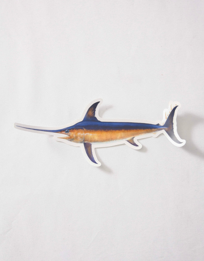 Abachar Swordfish Sticker