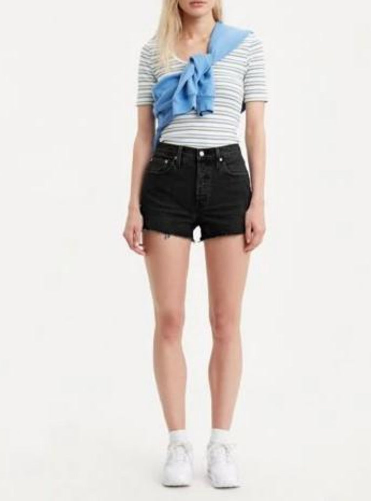 Levi's 501 Original Shorts Lunar Black