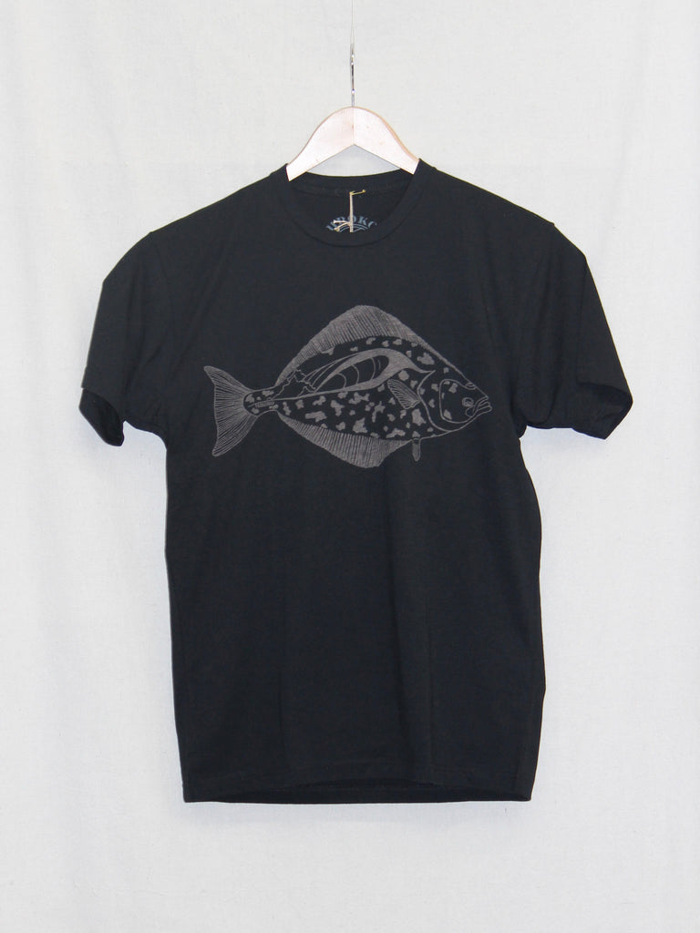 Uroko Halibut Tee Black