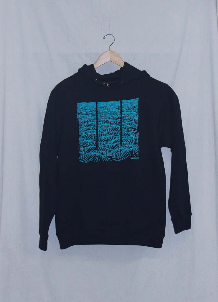 Uroko Swell Pullover Hoodie Navy