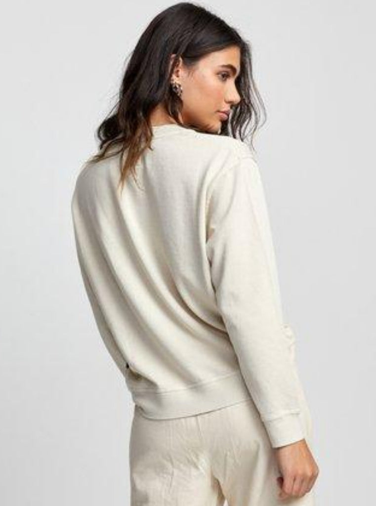 RVCA Mica Burnout Pullover Sweater