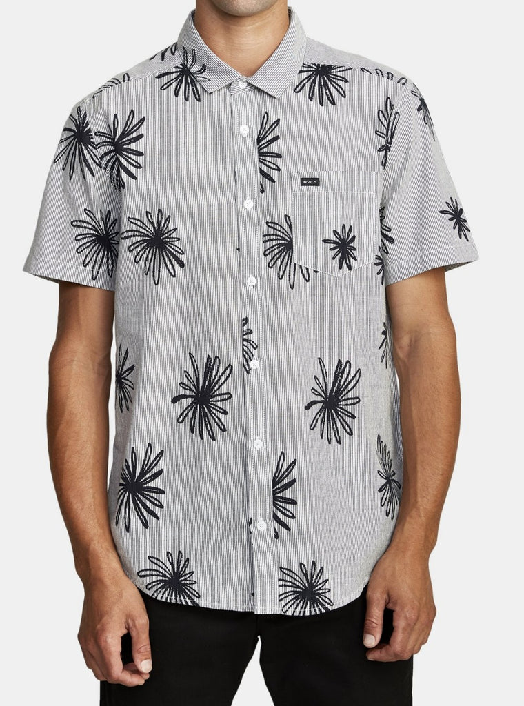 RVCA men's button up shirt