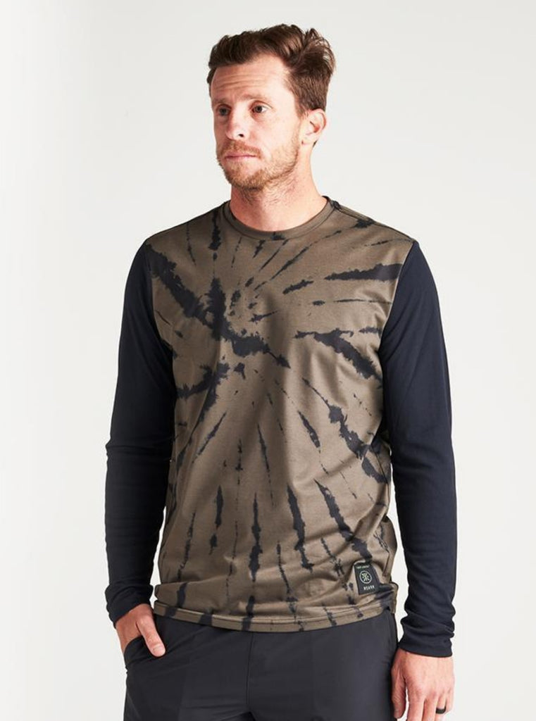 Roark Run Amok Willow Long Sleeve Knit Military