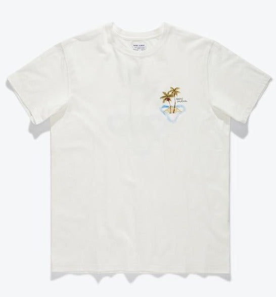 Banks Marine Tee Shirt Off White