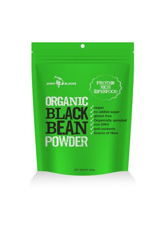 Jimmy Blacks Organic Black Bean Powder
