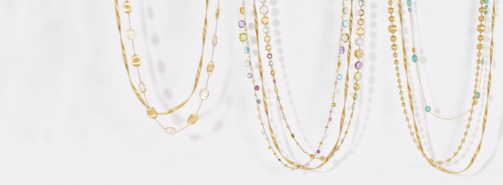 Marco Bicego Long Layered Necklace Collection