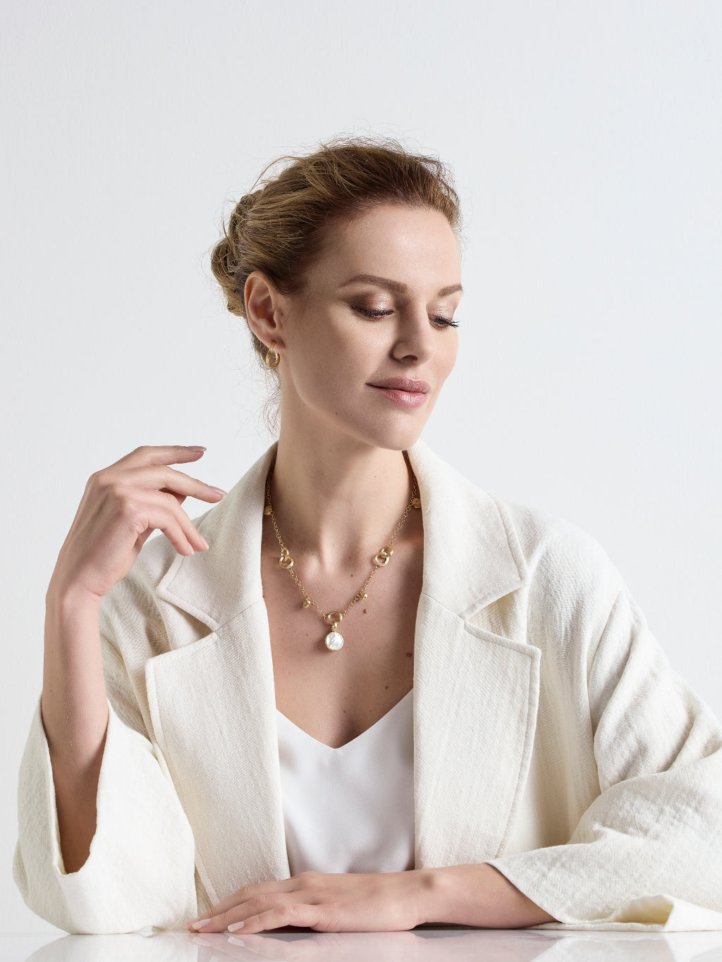 Marco Bicego® Jaipur Collection 18K Yellow Gold Small Stackable Pendant image 11