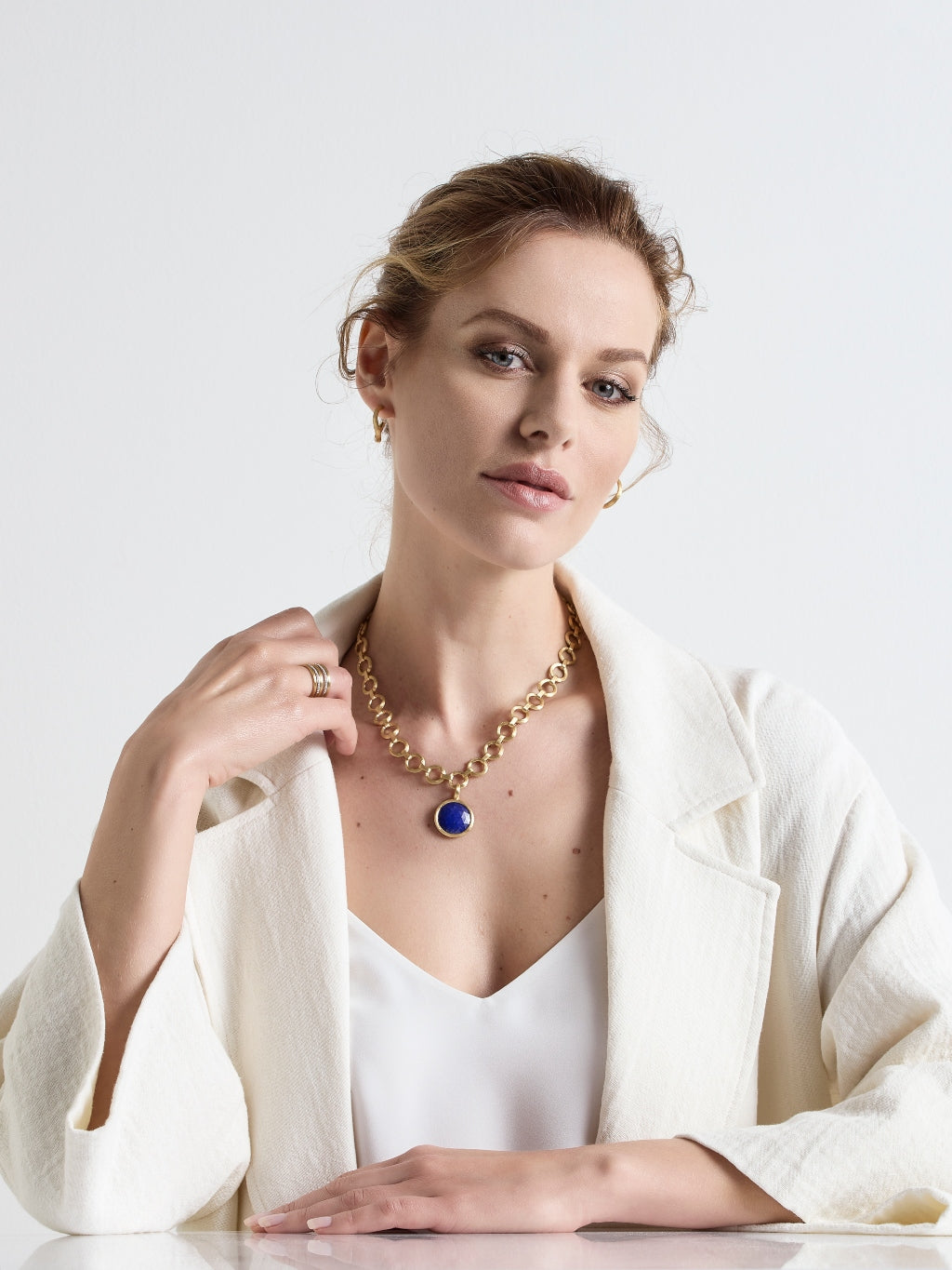 Marco Bicego® Jaipur Collection 18K Yellow Gold Medium Stackable Pendant image 7