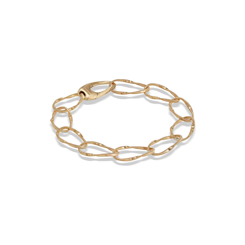 Marco Bicego® Marrakech Onde Collection 18K Yellow Gold Single Strand Bracelet