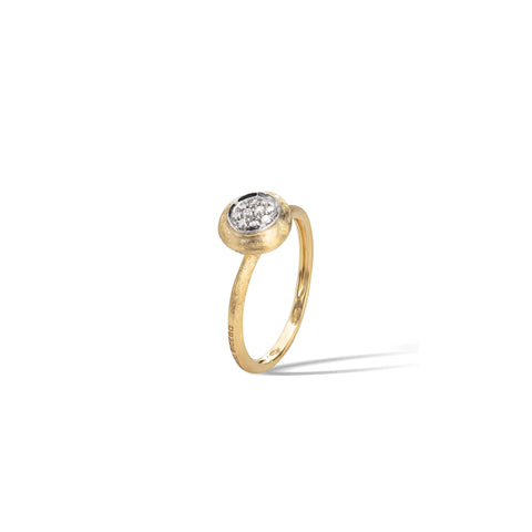 Marco Bicego® Jaipur Collection 18K Yellow Gold and Diamond Stackable Ring