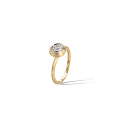 Marco Bicego® Jaipur Collection 18K Yellow Gold and Diamond Stackable Ring image 1