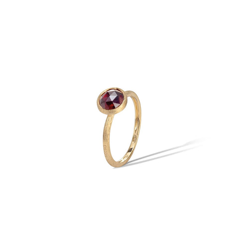 Marco Bicego® Jaipur Color Collection 18K Yellow Gold Garnet Stackable Ring