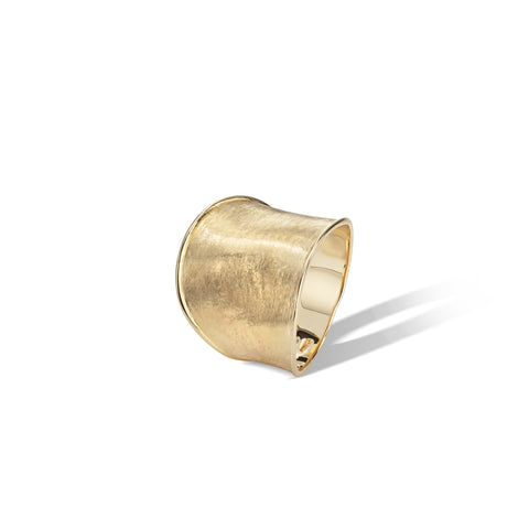 Marco Bicego® Lunaria Collection 18K Yellow Gold Medium Ring