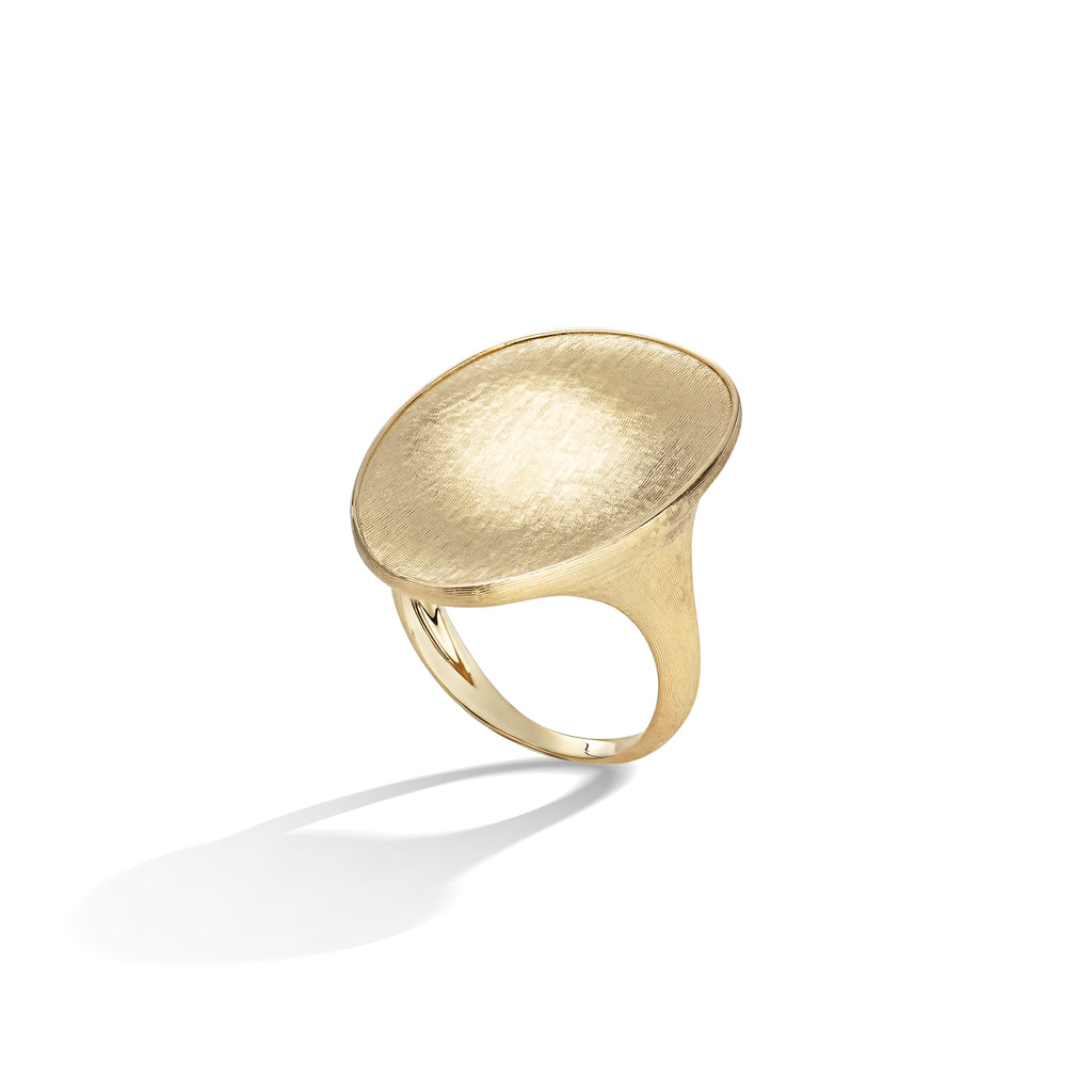 Marco Bicego® Lunaria Collection 18K Yellow Gold Cocktail Ring