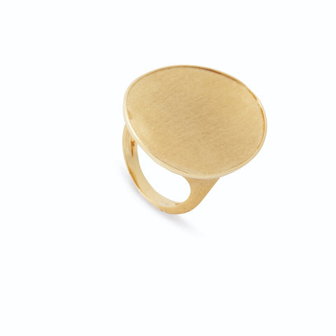 Lunaria Yellow Gold Large Cocktail Ring