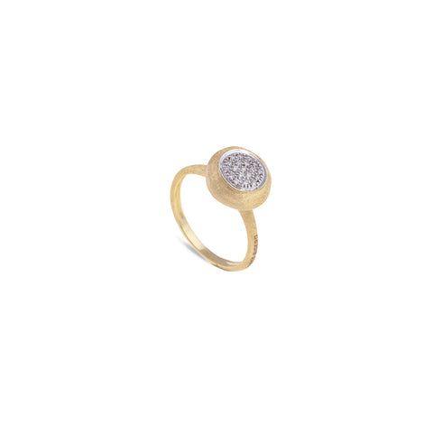 Marco Bicego® Jaipur Collection 18K Yellow Gold and Diamond Medium Stackable Ring