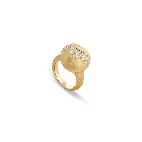Marco Bicego® Africa Collection 18K Yellow Gold and Diamond Large Ring