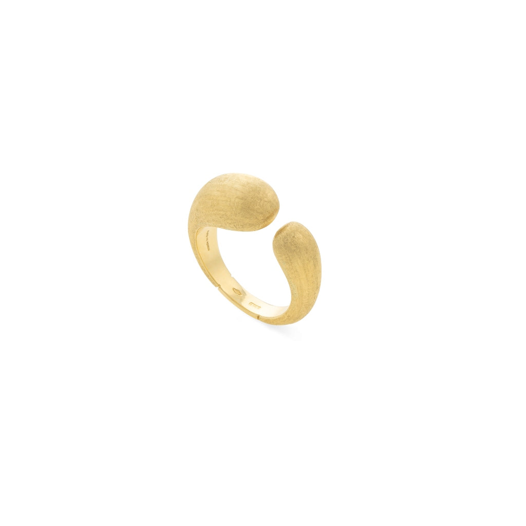Marco Bicego® Lucia Collection 18K Yellow Gold Kissing Ring
