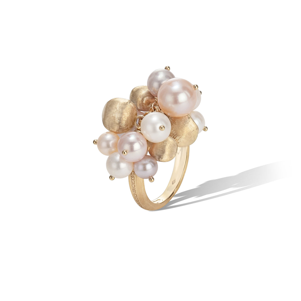 Marco Bicego® Africa Pearl Collection 18K Yellow Gold and Pearl Ring