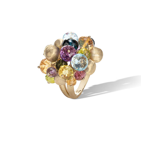 Marco Bicego® Africa Collection 18K Yellow Gold Mixed Gemstone Large Cocktail Ring