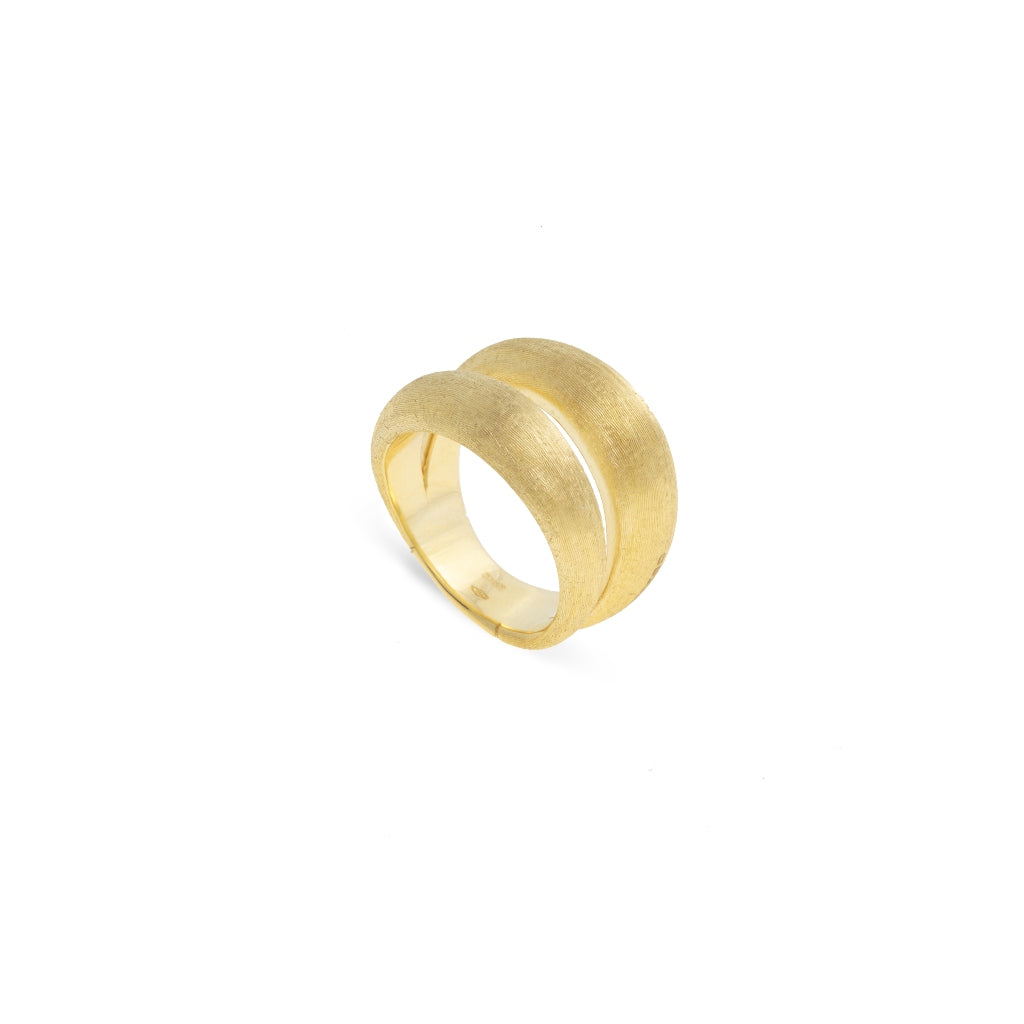 Marco Bicego® Lucia Collection 18K Yellow Gold Double Dome Ring