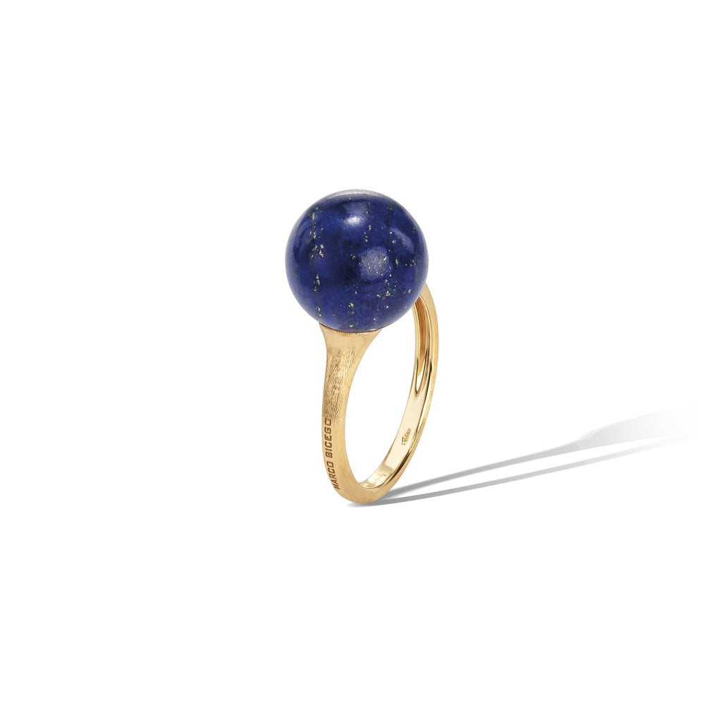 Marco Bicego® Africa Boule Collection 18K Yellow Gold and Lapis Ring