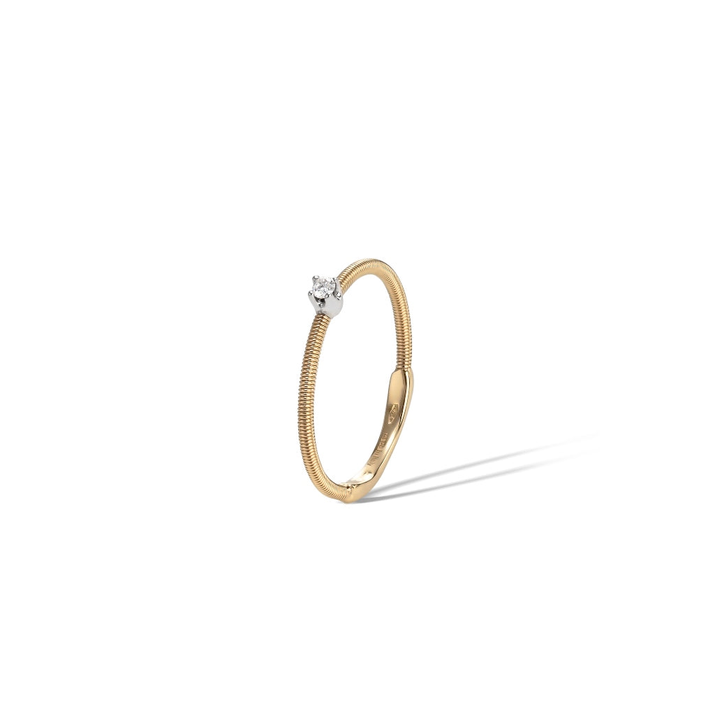 Marco Bicego® Bi49 Collection 18K Yellow Gold and Diamond Band