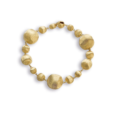 Africa Gold Mixed Bead Small Bracelet
