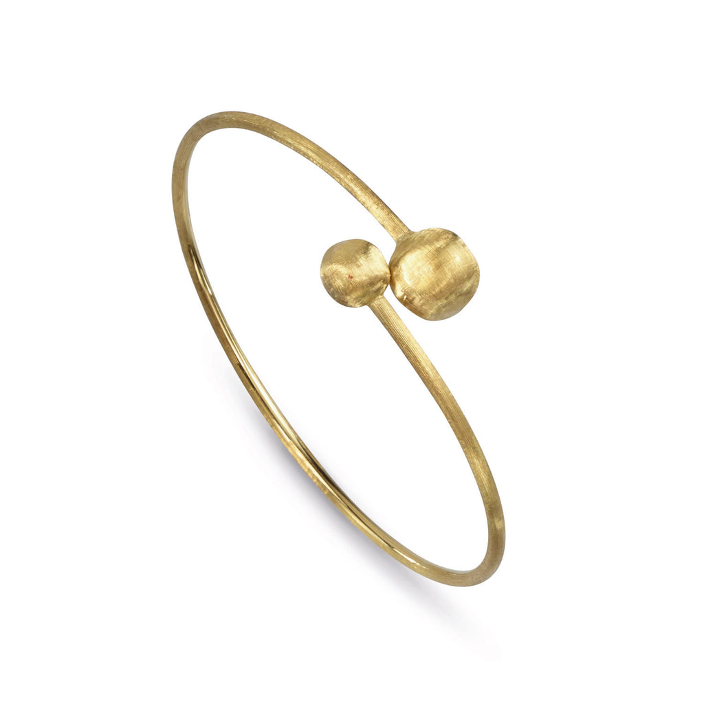18K Gold Hugging Bangle