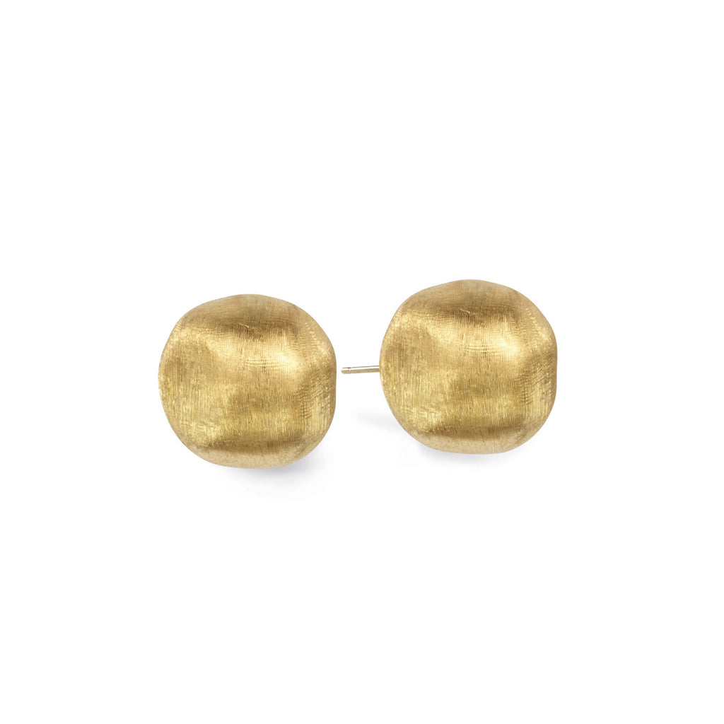 buy rubover stud earrings small diamond products yellow gold at