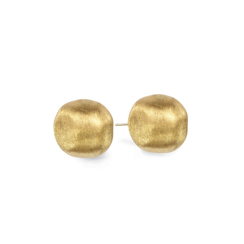 Africa Gold Large Stud Earrings