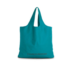 Teal Canvas Tote