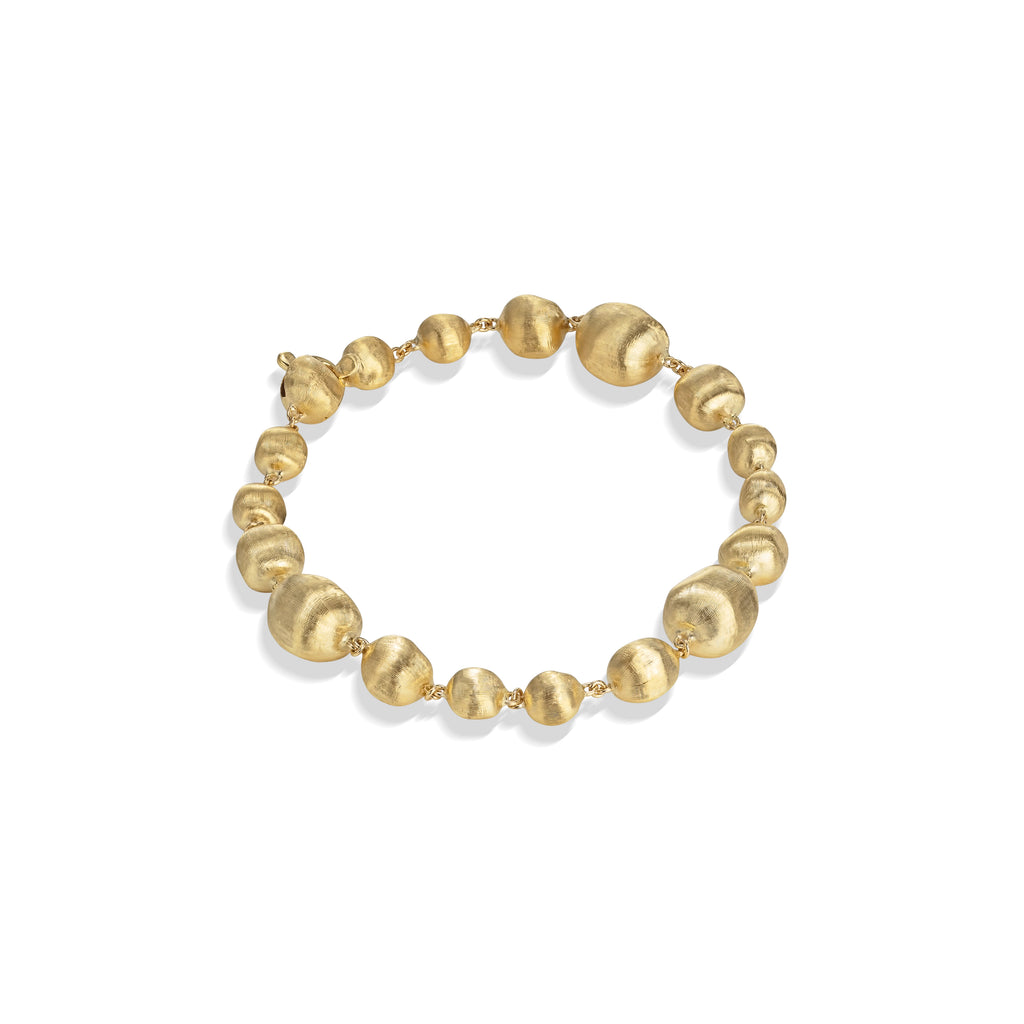 Marco Bicego® Africa Collection 18K Yellow Gold Mixed Bead Medium Bracelet