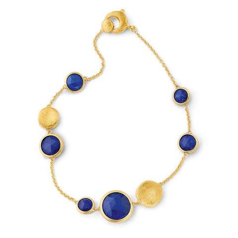 Marco Bicego® Jaipur Color Collection 18K Yellow Gold Lapis Bracelet