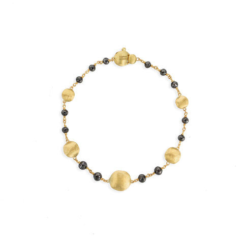 Africa Black Diamond Single Strand Bracelet