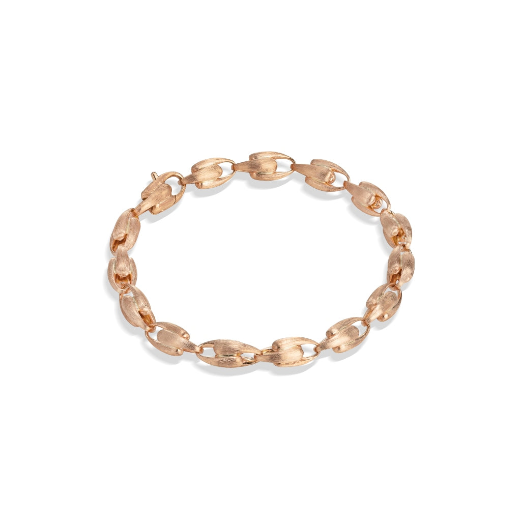 Marco Bicego® Lucia Collection 18K Rose Gold Small Link Bracelet