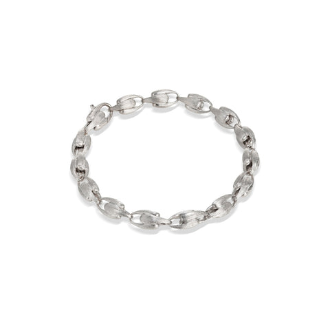 Marco Bicego® Lucia Collection 18K White Gold Small Link Bracelet