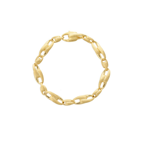 Legàmi Yellow Gold Medium Alternating Link Bracelet