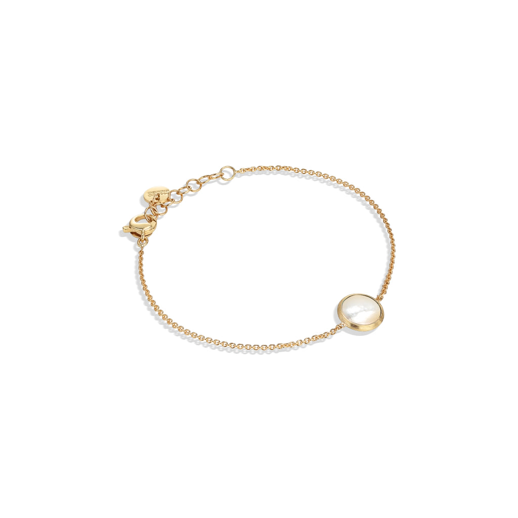 Marco Bicego® Jaipur Color Collection 18K Yellow Gold and Mother of Pearl Bracelet