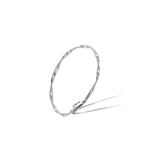 Marco Bicego® Marrakech Collection 18K White Gold Stackable Bangle