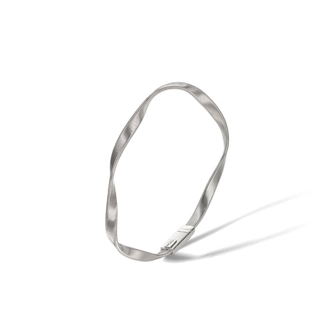 Marco Bicego® Marrakech Collection 18K White Gold Bangle