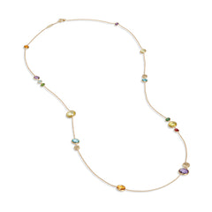 Marco Bicego® Jaipur Color Collection 18K Yellow Gold Mixed Gemstone Necklace image 0