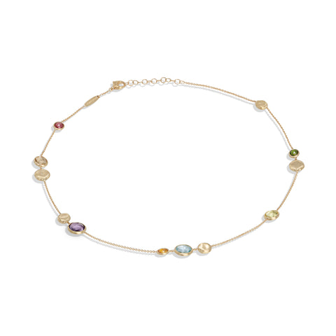 Marco Bicego® Jaipur Color Collection 18K Yellow Gold Mixed Gemstone Necklace