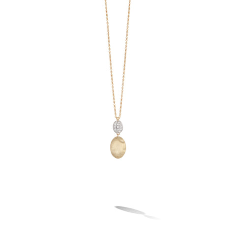 Marco Bicego® Siviglia Collection 18K Yellow Gold and Diamond Pendant