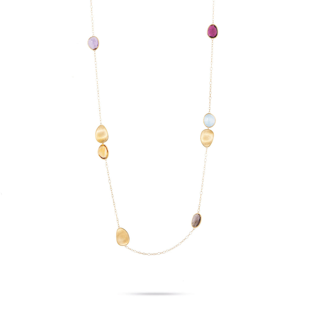 Unico Mixed Stone Long Necklace